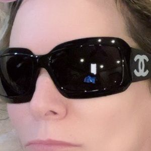 CHANEL Sunglasses Mother of Pearl